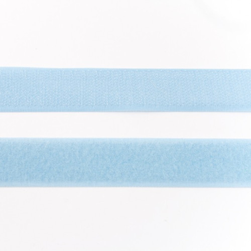 Hook & Loop Tape: Light Blue