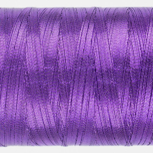 Spotlite Metallic WonderFil Threads: Purple