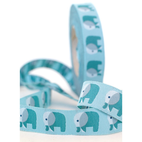 Elephant Pair: Farbenmix Ribbon