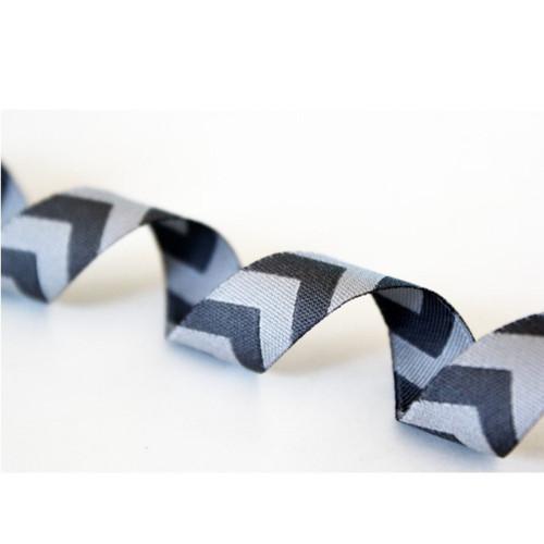 Chevron, Grey: Farbenmix Ribbon