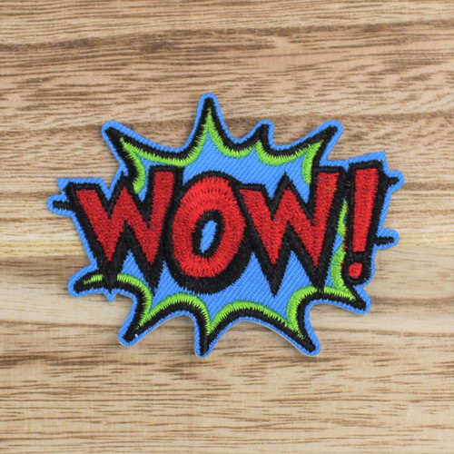 Wow: Iron-on Applique