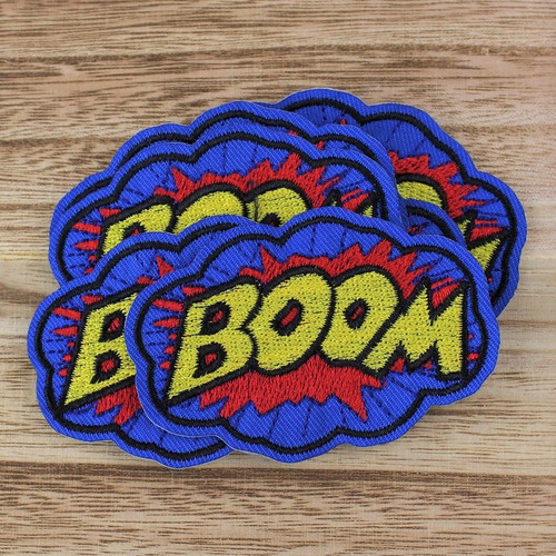 Boom: Iron-on Applique