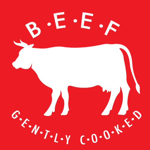 Gently Cooked Beef Dog Recipe - Case of 8 x 2lb bags