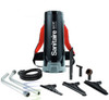 The Sanitarie SC530B Backpack Vacuum by Electrolux is designed for heavy duty cleaning. This vacuum is lightweight and designed to be lightweight and with a comfort harness to be worn on the back of the user.