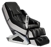 MC8900  BLACK: The Zero Gravity Whole Body Leather Massage Chair by SUNHEAT is designed to give you the most comfortable and best feeling massage a chair can give you. Stress and pain are two things we can do without, and the massage chair is your solution to those problems, and many more. This chair has a 2 stage zero gravity feature that leans you back to a 118 degree recline for the ultimate feeling of zero gravity. Not only can you experience massages simulating Shiatsu, kneading, tapping, stroking, rolling, and more, but you will also enjoy the carbon-fiber infrared heating therapy. All of this can be controlled at your fingertips with a remote. Along with enjoying the massage features, listen to your favorite music through built in speakers connected by Bluetooth or a MP3 Aux Connection. All models come with a three year warranty.