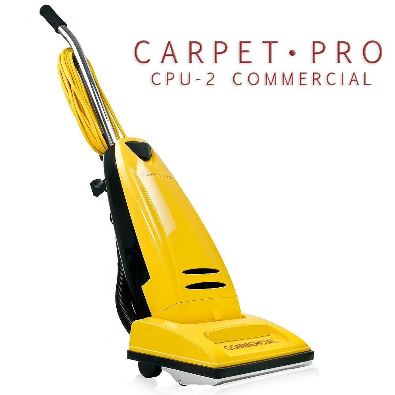 Carpet Pro Commercial Vacuum Cleaners