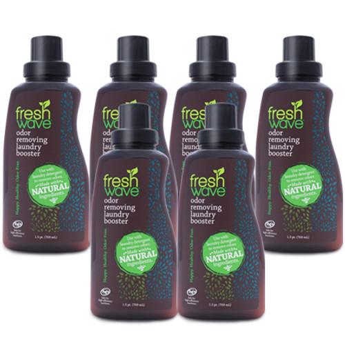 6 pack of 1.5 pints (24 fl. oz.) laundry booster SKU: 020-6 Rated:  Empty Star  Empty Star  Empty Star  Empty Star  Empty Star Buy the 6 pack of Laundry Booster and save!