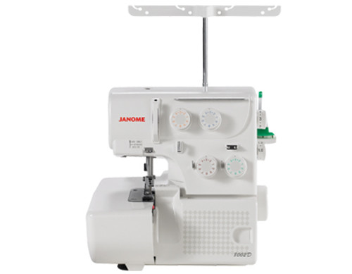The 8002D serger provides professional results at an extraordinary value. This 3 and 4 thread convertible serger cuts, sergers and finishes seams in one quick and easy motion. The external color coded tension dials allow for easy threading and the rolled hem changeover device makes it easy to convert to a rolled hem. You'll love the difference the 8002D will make in your sewing!