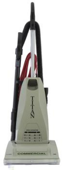 The Titan TC6000.2 commercial upright vacuum cleaner has a powerful 10 amp heavy duty commercial motor.