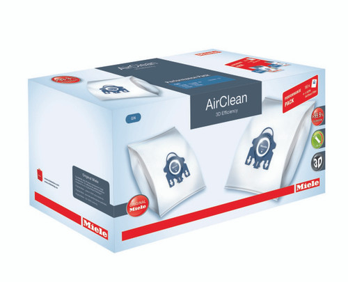 Performance Package includes 16 Genuine Miele GN AirClean bags and 1 Genuine Miele Type 50 Hepa Filter. A $139.95 VALUE!