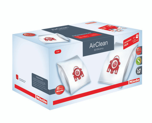 Performance Package includes 16 Genuine Miele FJM AirClean bags and 1 Genuine Miele Hepa Type 50 Filter. A $139.95 VALUE!