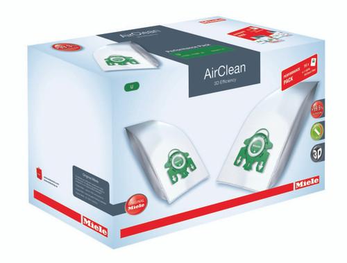Performance Package includes 16 Genuine Miele U1 AirClean bags plus 1 Genuine Miele Type 30 Hepa  Filter. A $139.95 VALUE!