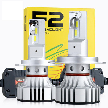 SET LED KUTI E VERDHE F2 H4