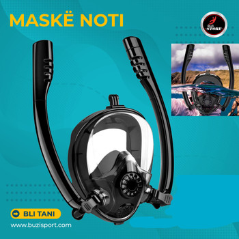 DOUBLE TUBE DIVING MASK F301