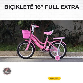 BICIKLET 16 FULL EXTRA PINK