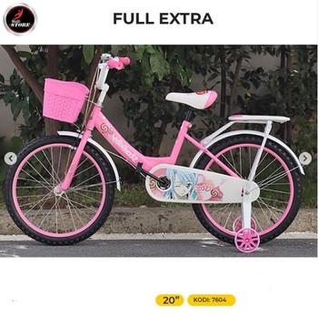 BICIKLET 20 FULL EXTRA PINK
