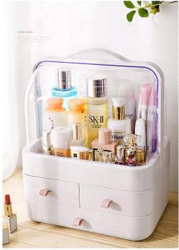 Plastic cosmetic storage box 114-261