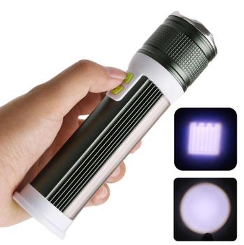Elektrik dore me kapëse të zmadhimit T6 + COB LED