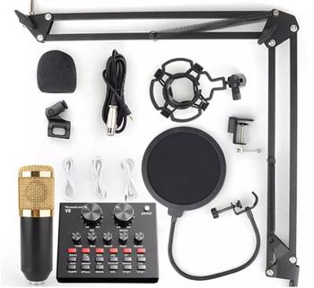 Komplet mikrofoni kondensator BM-800+V8S