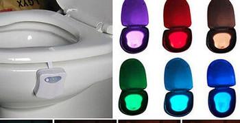 Drite LED per tualetin
