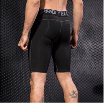 Unisex fitness five-point pants 888