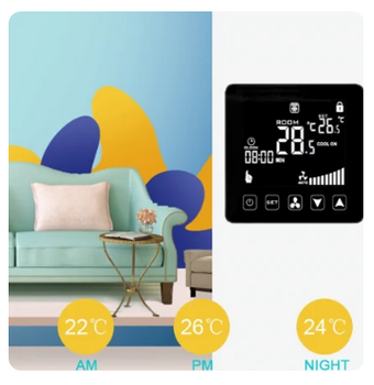 Smart air condicioner thermostat
