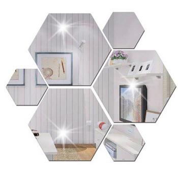 VERY BIG Hexagonal Mirror Acrylic