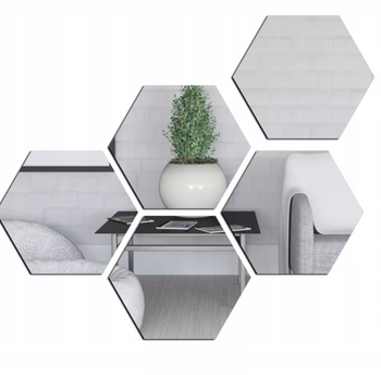 BIG Hexagonal Mirror Acrylic