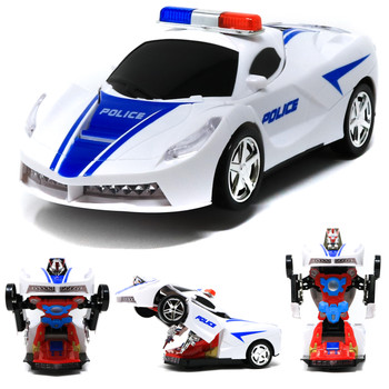 Rc Deformation Vehicle Police Car 699-2