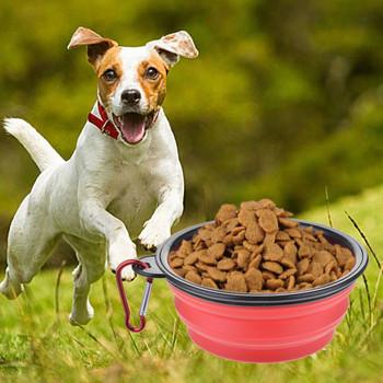 Dog bowl plastic 350ml