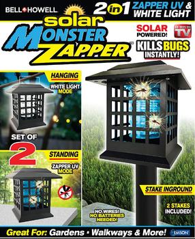 Solar Monster Zapper 2in1