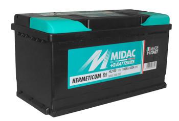 Bateri Makine MIDAC 12v 100Ah