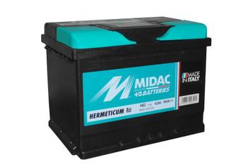 Bateri Makine MIDAC 12v 62Ah