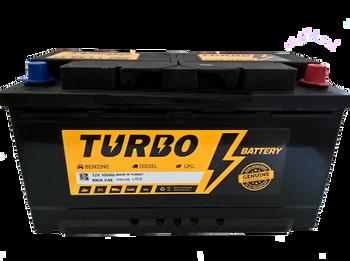 Bateri Makine TURBO 12v 100Ah