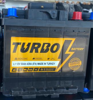 Bateri Makine TURBO 12v 50Ah