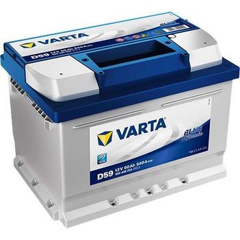 Bateri Makine VARTA BLUE  12v 60Ah