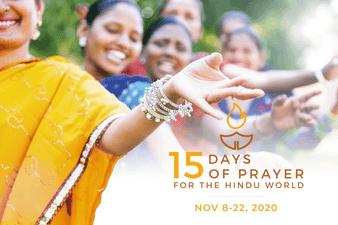 15 Days Of Prayer For The Hindu World