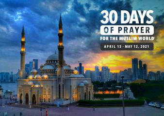 2021 30 Days of Prayer for the Muslim World