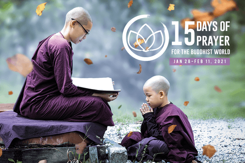 15 Days Of Prayer For The Buddhist