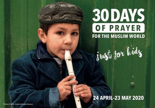 30 days of Prayer for Kids (PDF)