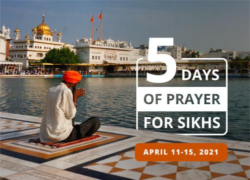 5 Days of Prayer for Sikhs