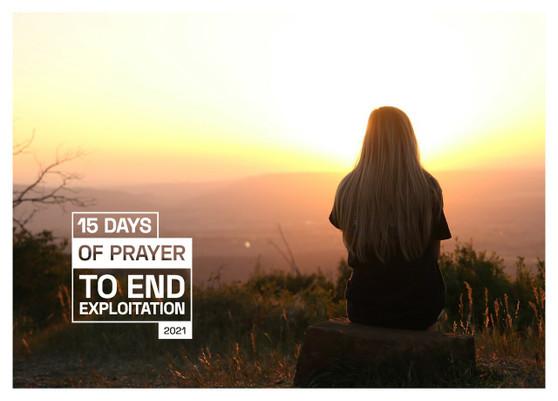15 Days of Prayer to End Exploitation pdf