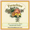 Balsam and Citrus Mist label