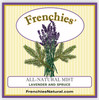 Lavender and Spruce Mist label