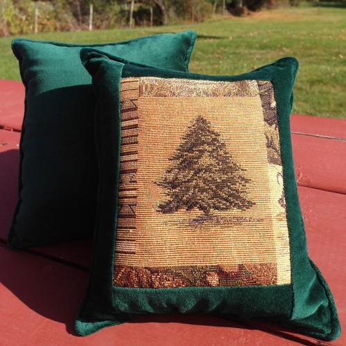 Balsam Tree Medium Balsam Tapestry Pillow
