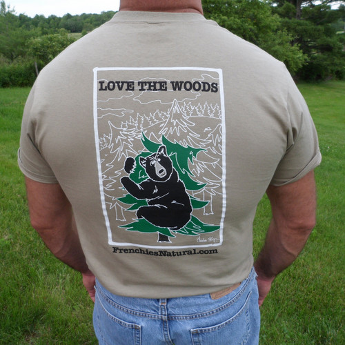 Love The Woods - Frenchies' T-Shirt