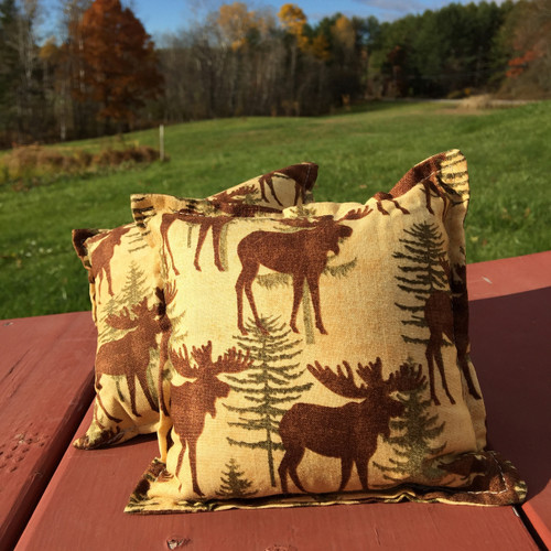 Moose Balsam Small Pillow
