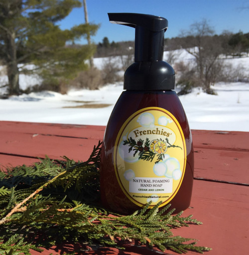 Cedar and Lemon Natural Foaming Hand Soap