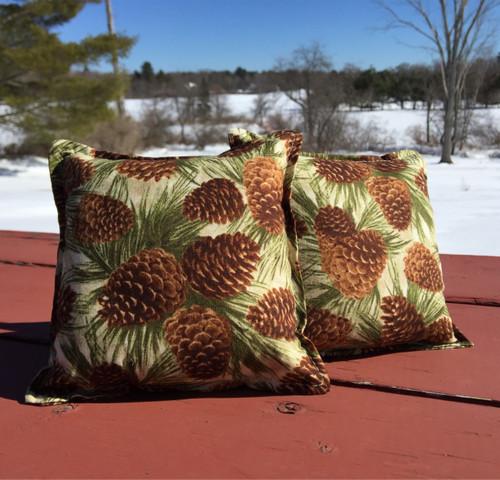 Pine Branch Balsam Small Pillow