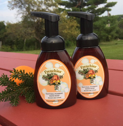 Balsam and Citrus Natural Foaming Hand Soap Two Pack Special